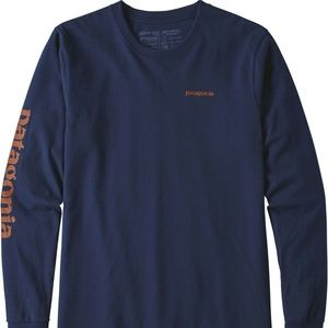 Patagonia Men's Text Logo Responsibili-Tee Long